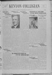 Kenyon Collegian - December 8, 1937