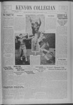 Kenyon Collegian - October 20, 1938
