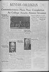 Kenyon Collegian - May 26, 1939