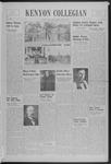 Kenyon Collegian - October 23, 1939