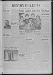 Kenyon Collegian - November 13, 1939