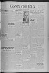 Kenyon Collegian - February 27, 1940