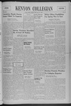 Kenyon Collegian - March 20, 1940