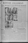 Kenyon Collegian - June 10, 1940