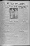 Kenyon Collegian - October 10, 1940