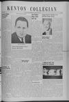 Kenyon Collegian - November 8, 1940