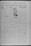 Kenyon Collegian - May 2, 1941