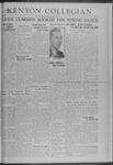 Kenyon Collegian - May 2, 1941