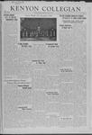 Kenyon Collegian - June 9, 1941