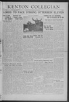 Kenyon Collegian - October 3, 1941