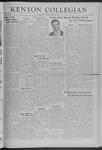 Kenyon Collegian - October 24, 1941