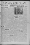Kenyon Collegian - October 31, 1941