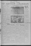 Kenyon Collegian - November 14, 1941