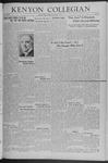 Kenyon Collegian - December 5, 1941