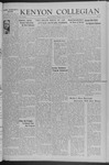 Kenyon Collegian - January 16, 1942