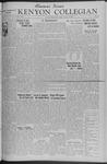 Kenyon Collegian - February 27, 1942