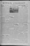 Kenyon Collegian - March 13, 1942