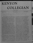 Kenyon Collegian - June 2, 1944
