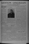 Kenyon Collegian - December 22, 1944