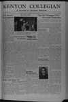 Kenyon Collegian - February 9, 1945