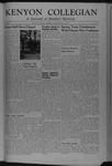 Kenyon Collegian - March 15, 1945