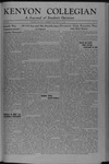 Kenyon Collegian - May 21, 1945