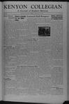 Kenyon Collegian - July 20, 1945