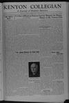 Kenyon Collegian - August 24, 1945