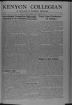 Kenyon Collegian - November 23, 1945