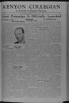 Kenyon Collegian - February 21, 1946