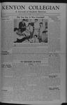 Kenyon Collegian - October 18, 1946