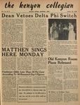 Kenyon Collegian - March 10, 1950