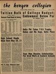 Kenyon Collegian - May 17, 1950