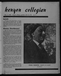 Kenyon Collegian - November 2, 1951