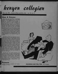 Kenyon Collegian - November 16, 1951