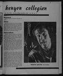 Kenyon Collegian - November 30, 1951