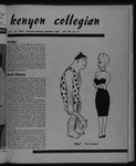 Kenyon Collegian - January 18, 1952