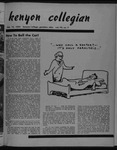 Kenyon Collegian - February 15, 1952