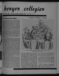 Kenyon Collegian - February 29, 1952
