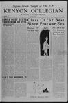Kenyon Collegian - October 2, 1953