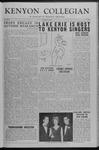 Kenyon Collegian - November 24, 1953