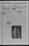 Kenyon Collegian - January 15, 1954