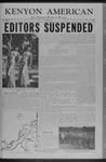 Kenyon Collegian - April 29, 1955