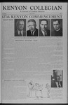 Kenyon Collegian - May 26, 1955