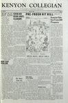 Kenyon Collegian - April 21, 1956