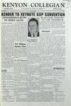Kenyon Collegian - April 30, 1956