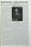Kenyon Collegian - May 25, 1956