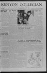 Kenyon Collegian - January 12, 1957