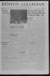 Kenyon Collegian - March 2, 1957