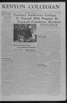 Kenyon Collegian - March 16, 1957